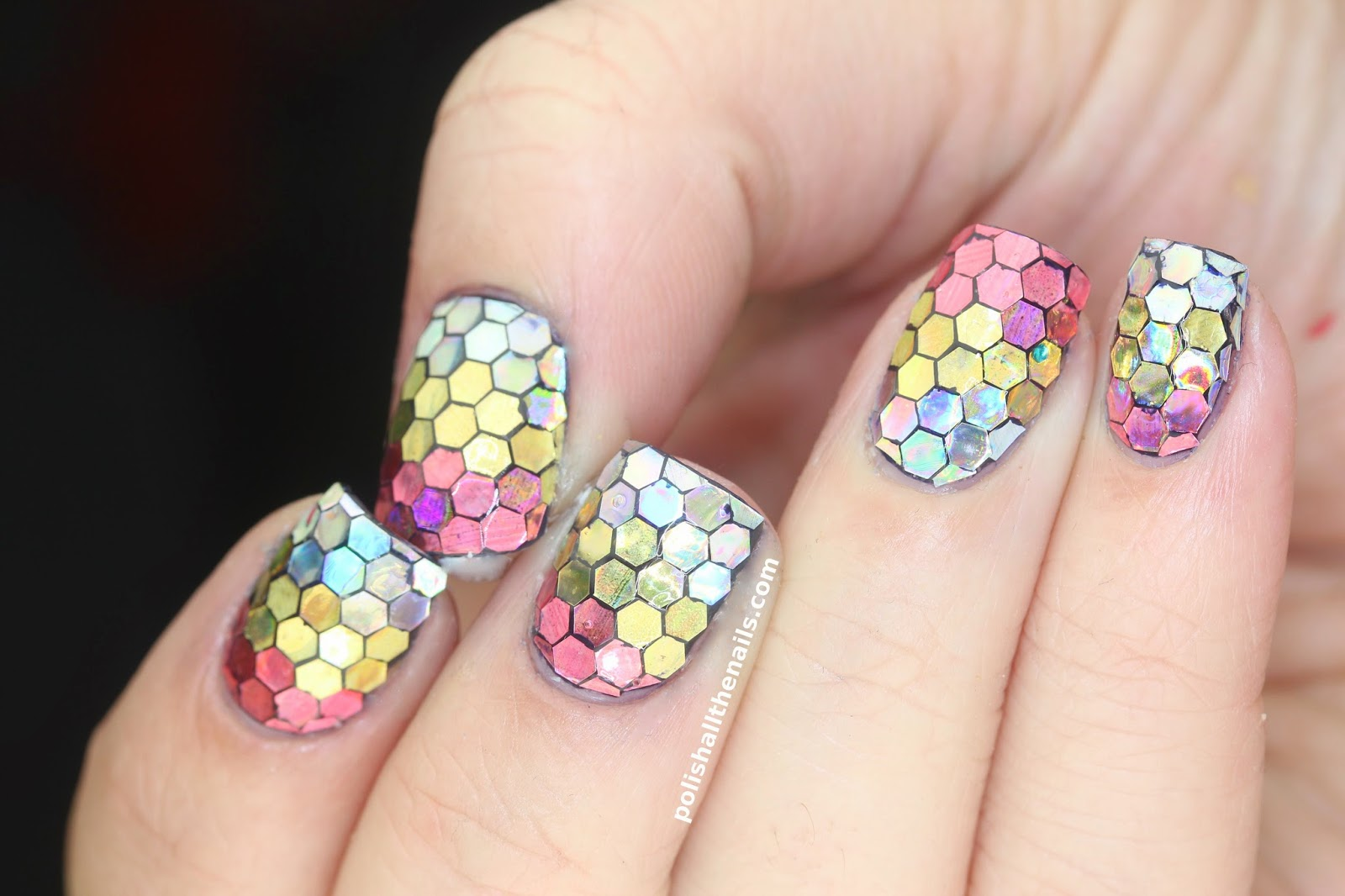 Nail Art: Sunset Mermaid Nails for My Instagram Meetup!