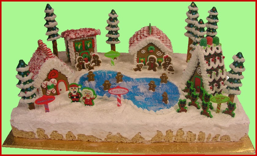 Gingerbread Village Decorating Ideas