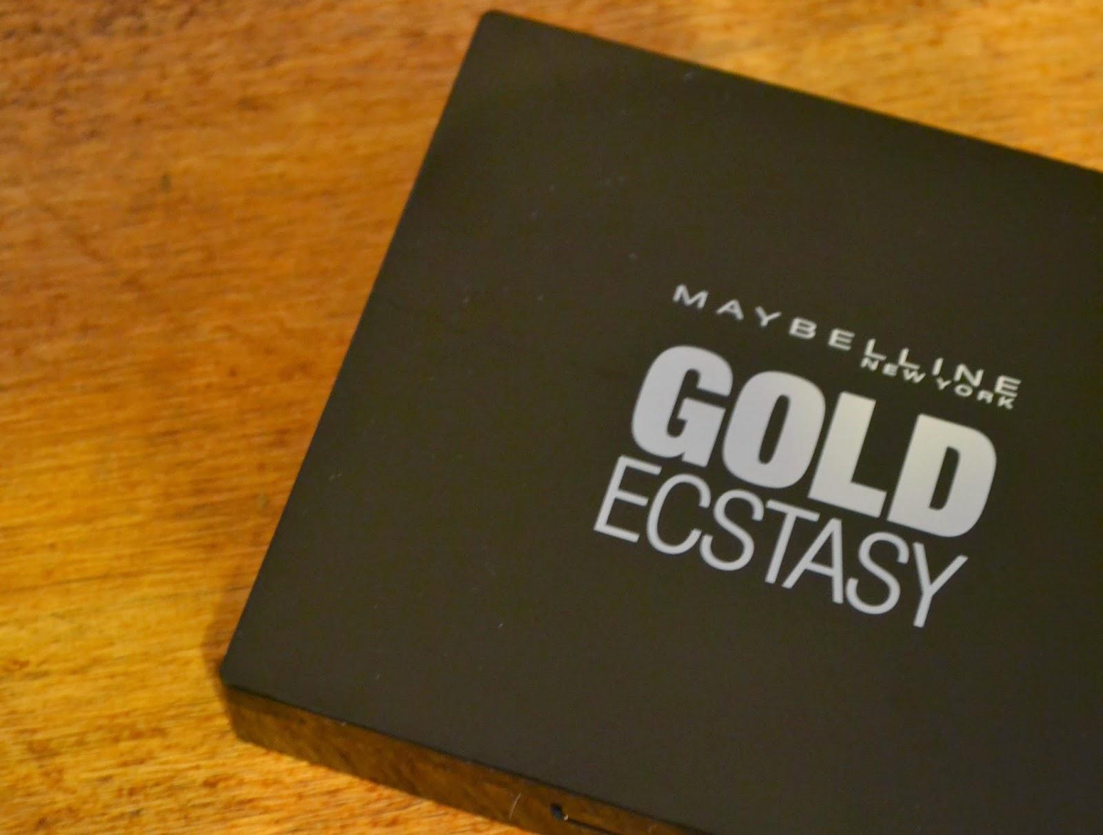 Paleta Gold Ecstasy de Maybelline