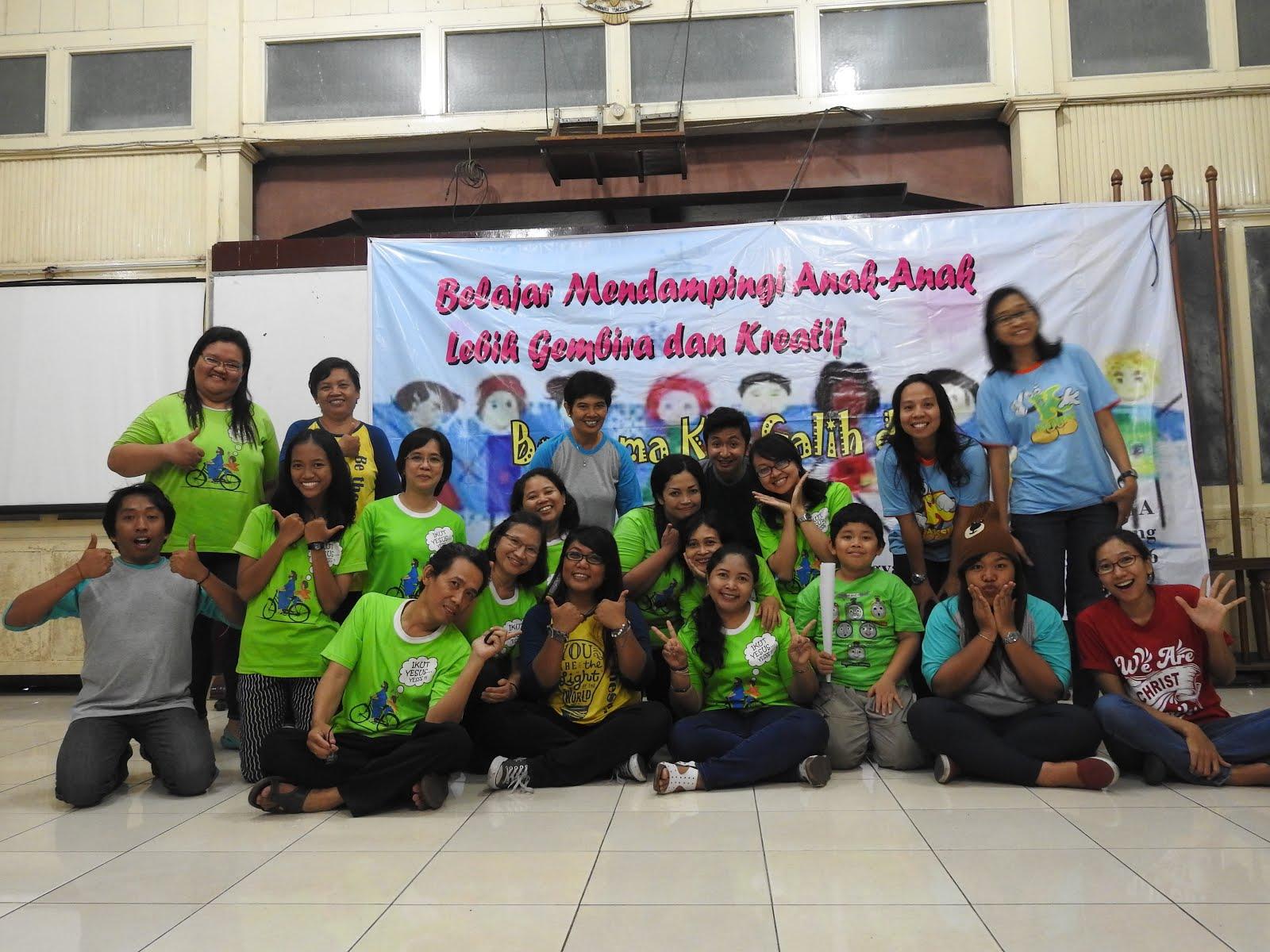 Bersama Pendamping PIA Katedral Semarang 15-16 Oktober 2016