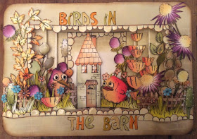 Tim Holtz Crazy Birds Clare Charvill My Creative Spirit
