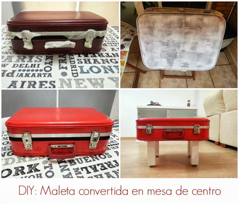 Diy una maleta convertida en mesa de centro - Mesas de centro antiguas ...