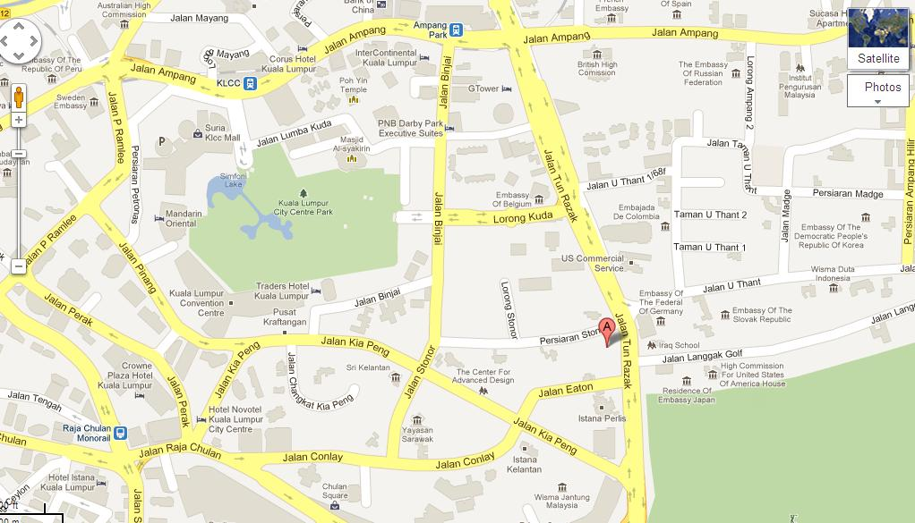 Us Consulate Dubai Map Of Google Consulate - Aridaz.com
