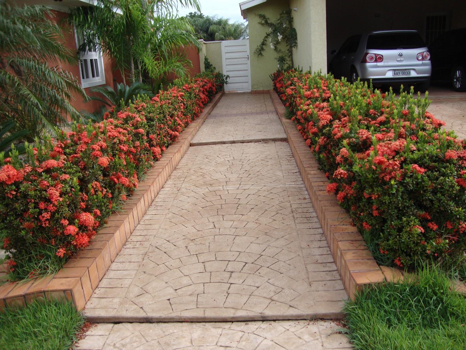 ideias jardins moradiascasas bonitas caminhos de entrada de casa