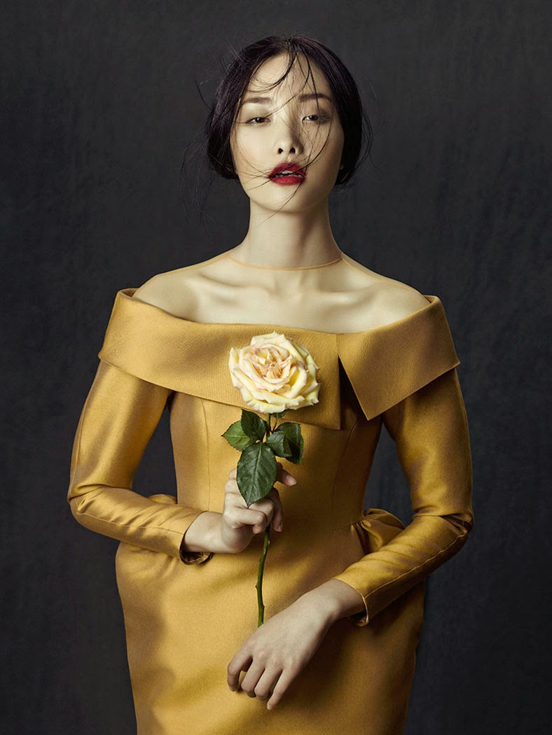 Kwak Ji Young by Zhang Jingna & Phuong My for Fashion Gone Rogue December 2013 | Ses Rêveries