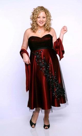 The latest plus size evening dresses