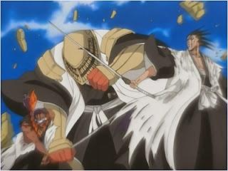 โคมามูระปกป้องโทเซ็นจากเคมปาจิ