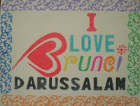 I Love Brunei Darussalam  by Eddy Suwantoro
