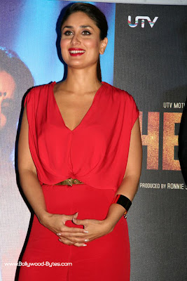 Kareena Kapoor Smiles at Heroine Movie Trailer launch