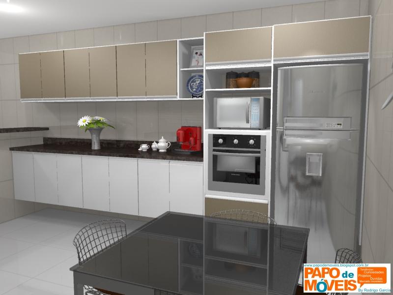 Rimo Modulados ~ Projeto Cozinha Cozinha Florenza Fabricante Rimo Papo de móveis