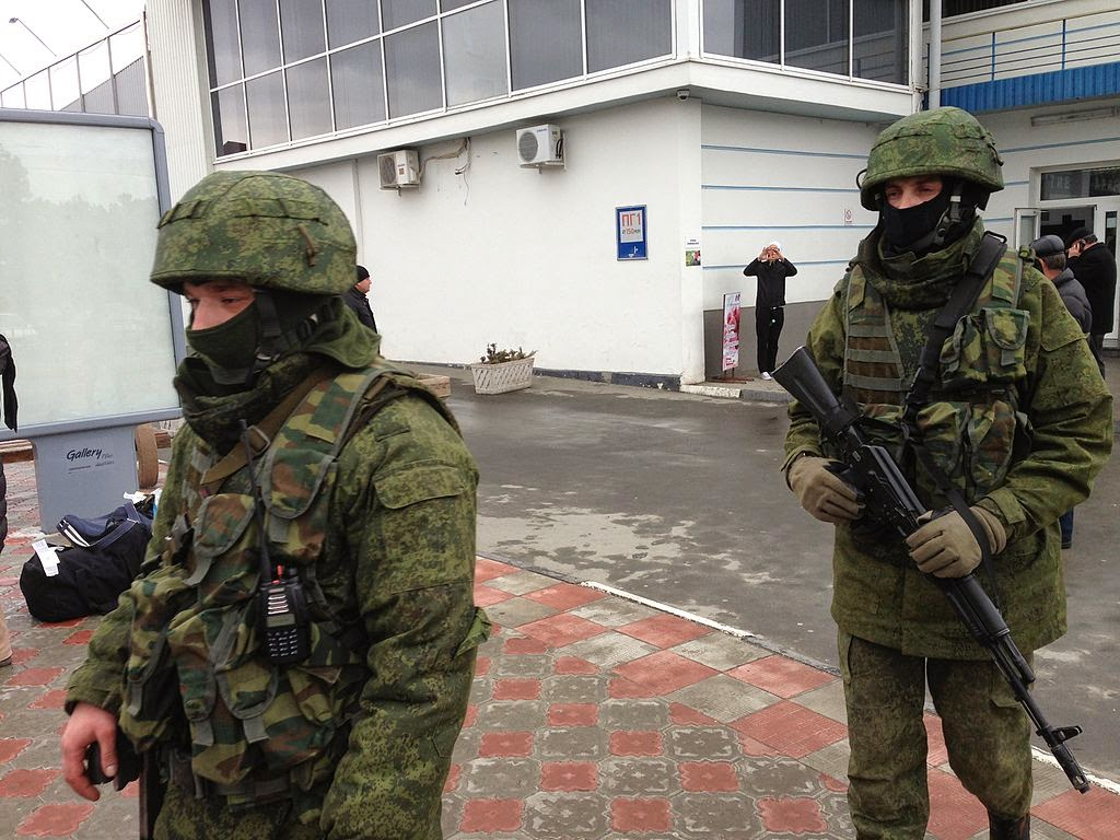 Gunmen at Simferopol airport