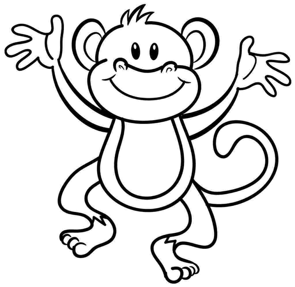 Kleurplaten dieren for Baboon coloring pages