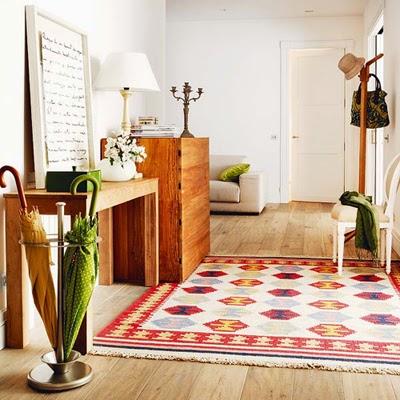 Decorole recibidor alfombras en el recibidor - Alfombras para recibidor ...