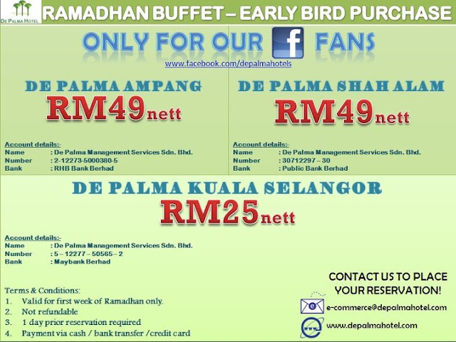 557820 328294347228052 172044466186375 932498 808712879 n EARLY RAMADHAN BUFFET AT DE PALMA HOTEL AMPANG (2012)