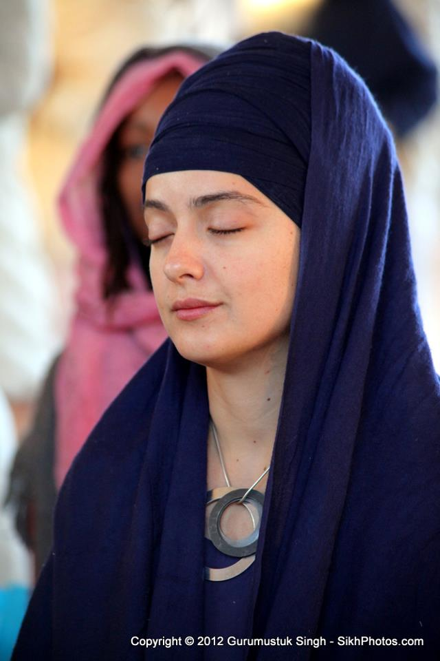 Sikh Women Turban