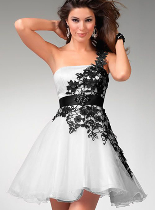 black and white wedding dress ideas