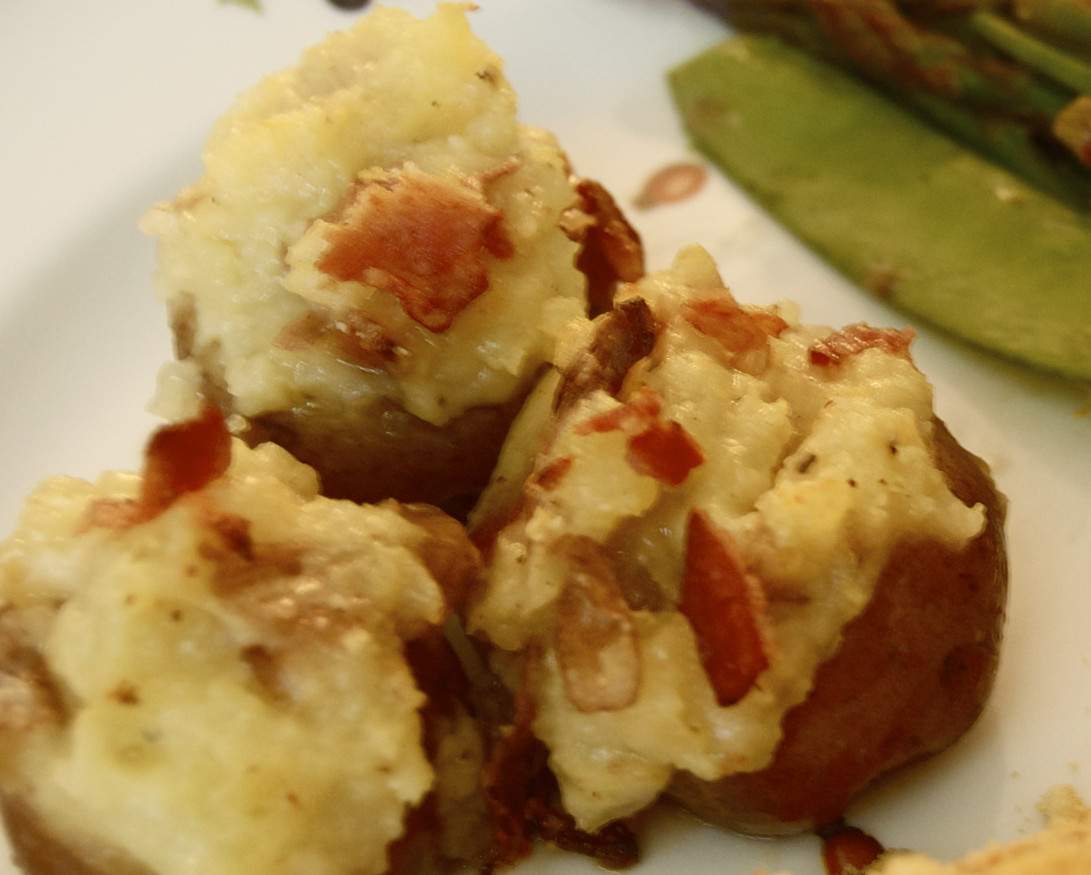 Bitsy Bakerette: Stuffed Baby Red Potatoes