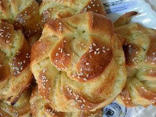 Pain Turc au fromage réalisé par Islem Belgherbi