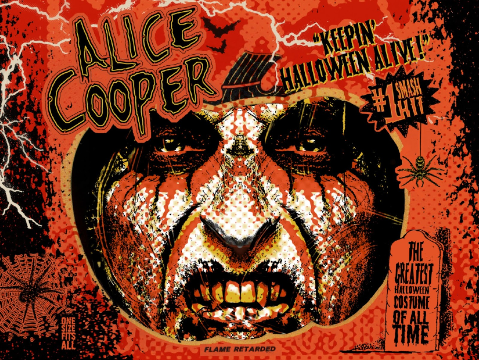Image result for alice cooper keepin halloween alive