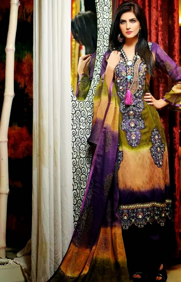 Party Wear Lawn Collection 2014