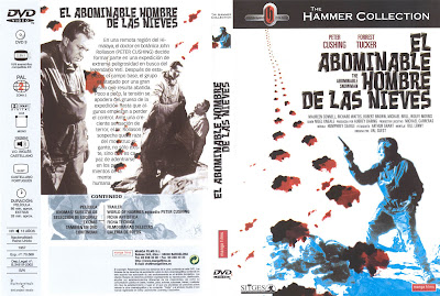 Cover, dvd, caratula: El abominable hombre de las nieves | 1957 | The Abominable Snowman