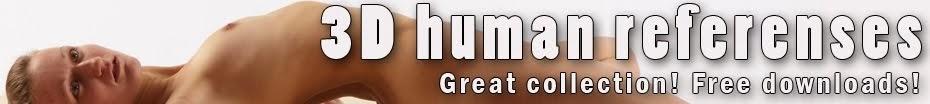 3D human referenses