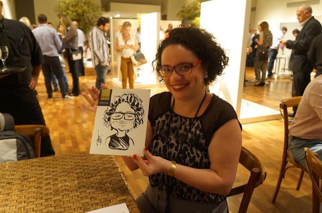 Cerâmica Portinari - lançamentos 2016 - Caricatura da blogueira Carina Pedro