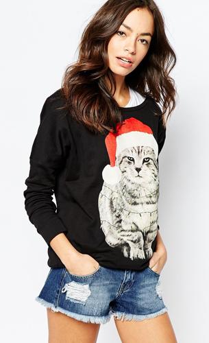 jersey navideño mujer de Asos