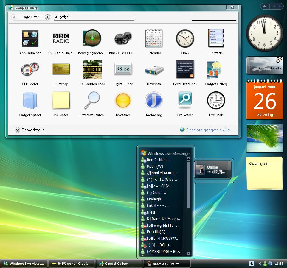 Window 7 Sidebar Download