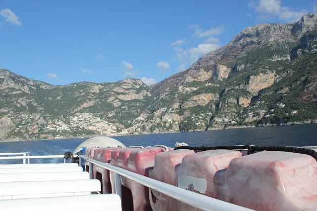 Ferry from Positano to Amalfi