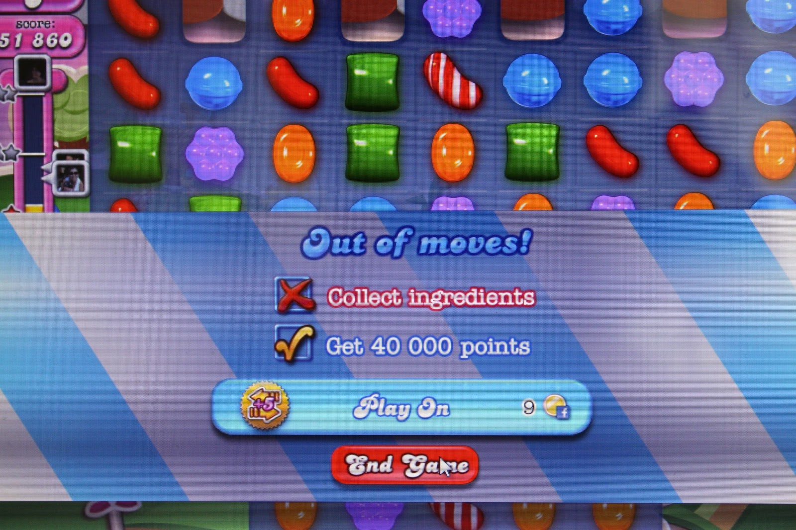 how to play candy crush in facebook