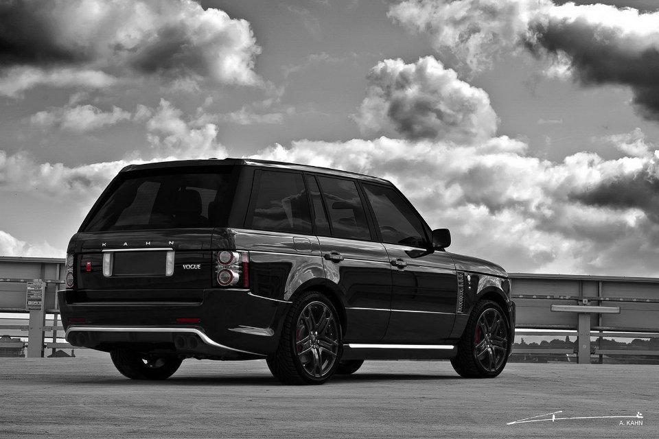 black vogue a brand new range rover project kahn garage car. Black Bedroom Furniture Sets. Home Design Ideas