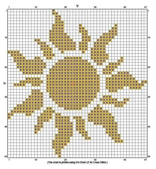 Schemi punto croce schemi di ricamo sole a punto croce for Immagini punto croce