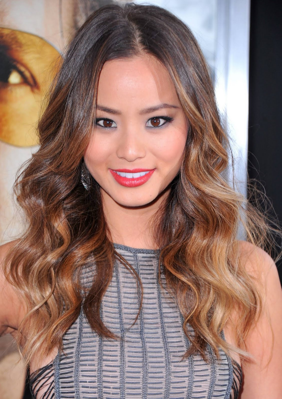 Celebrity Ombre Hairstyle - Jamie Chung
