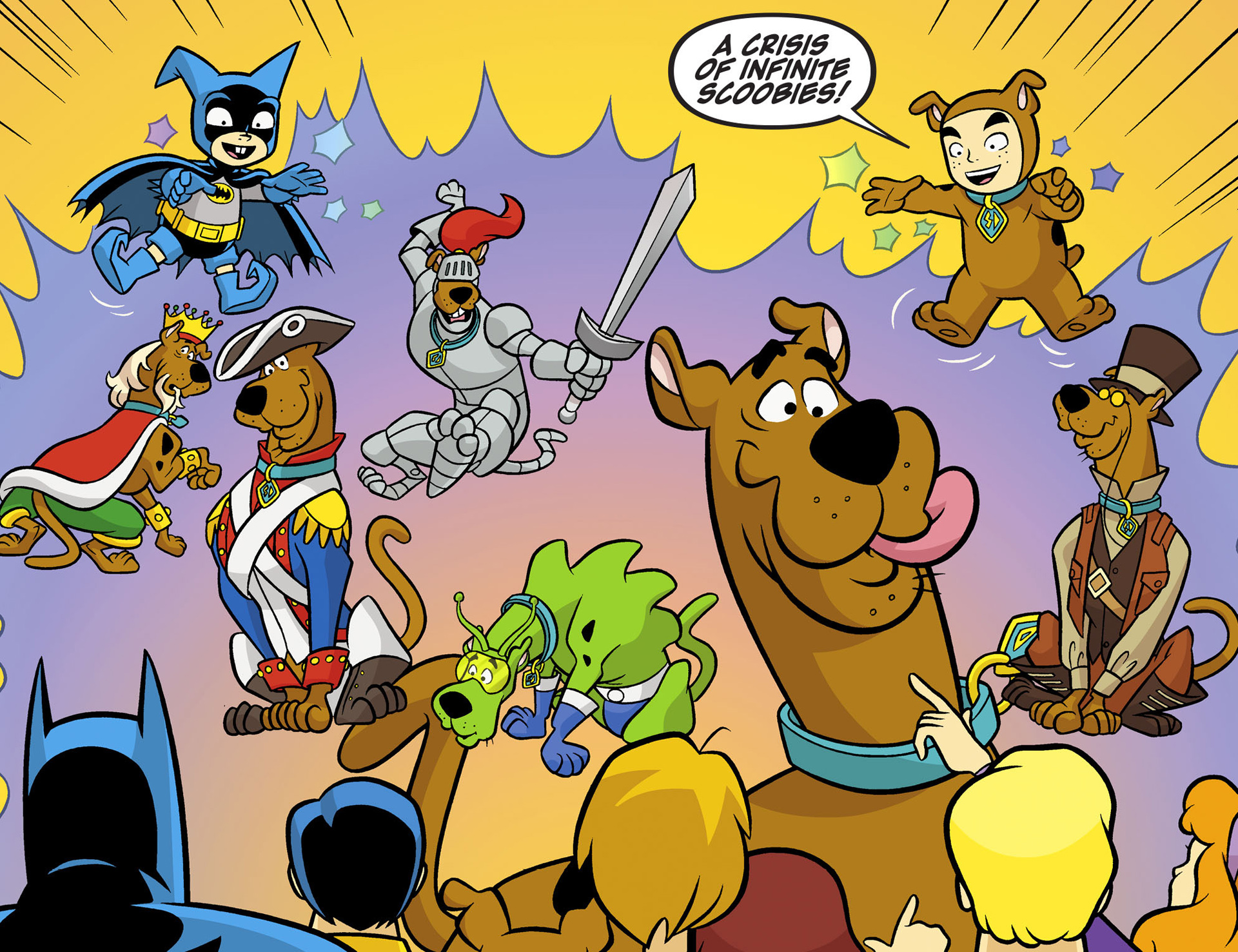 Read online Scooby-Doo! Team-Up comic -  Issue #6 - 16