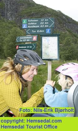Hemsedal byr på mange flotte sykkelruter og gode muligheter til sykkeltur