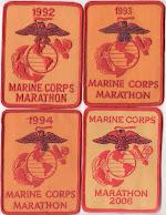 THOMAS Q KIMBALL WA8UNS Marine Corps Marathon 1992 1993 1994 2006