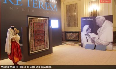 """A Milano la mostra """"Madre Teresa. Una bambina di nome Gonxhe"""""""