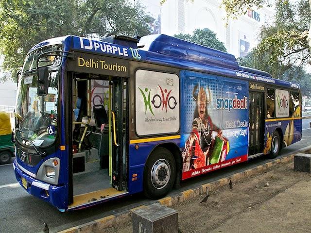 HOHO Bus Service in Delhi