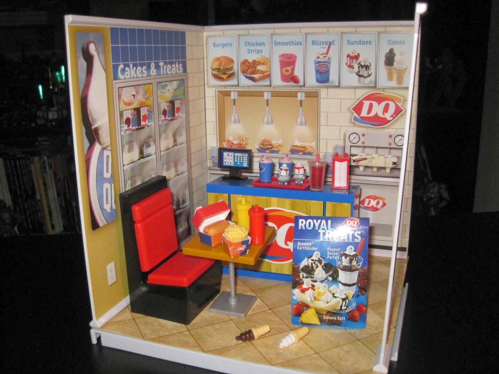 Dairy Queen Toys : Toy remix miworld dairy queen starter set