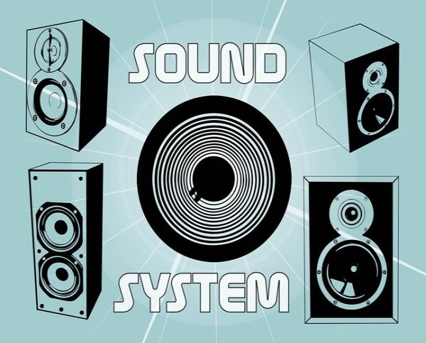 Free Sound System Vector Graphics