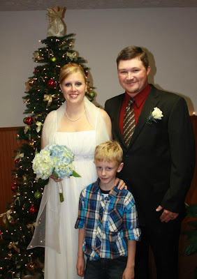 Christmas Eve wedding