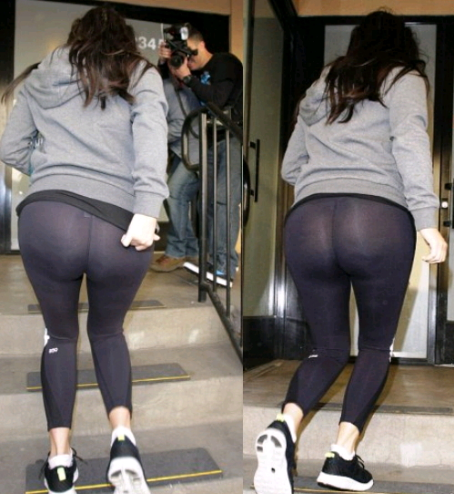 kim kardashian workout pants