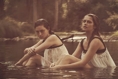 Aussie actresses Teresa Palmer and Phoebe Tonkin by Will Davidson for Vogue Australia March 2015
