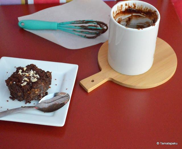4 Ingredient Nutella Mug Cake