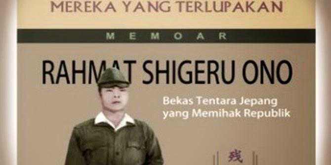 'Samurai Jepang' Shigeru Ono bangga berjuang demi kemerdekaan RI