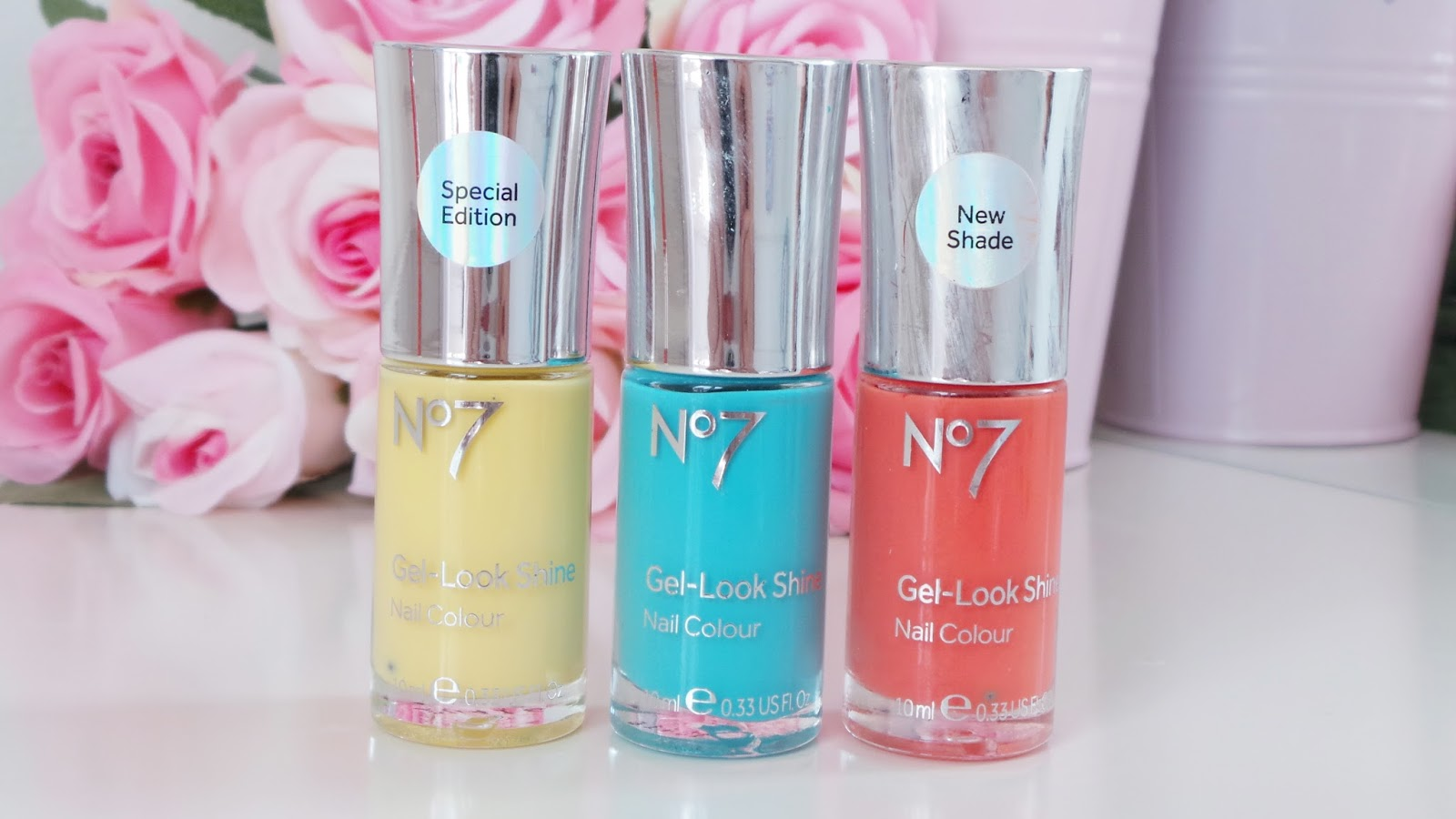 gel look shine nail colours, lemon drop, orange spice, mint treat no7 summer collection, no7 at boots, no7 cosmetics, no7 review, no7 make up, no7 summer, no7 nail polish, beauty blog, beauty blogger, bblogger, ukbeautyblog, ukbeautyblogger,