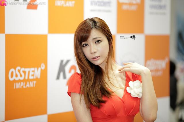 7 Jo Se Hee at SIDEX 2012-very cute asian girl-girlcute4u.blogspot.com