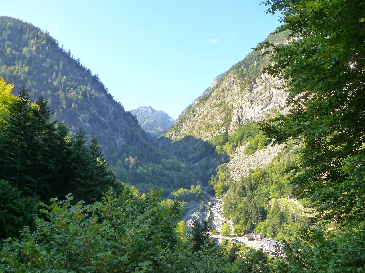 La Raillère from the Chemin des Pères