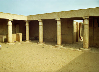 The tomb of Horemheb (First courtyard )